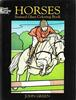 Horses - Stained Glass Coloring Book