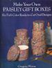 Make Your Own Paisley Gift Boxes